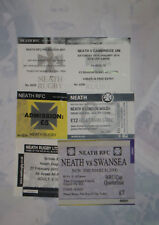 NEATH RUGBY TICKETS 2000 - 2014 GROUP of 7 inc MUNSTER, SWANSEA & CAMBRIDGE UNI