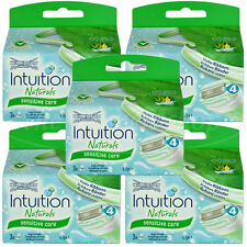 15 Wilkinson Intuition Sensitive Care Naturals Rasierklingen Klingen Aloe Vera