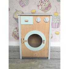 Waschmaschine aus Holzs. ökologisches Holzspielzeug Exklusive NEU 50 x 34 x 26cm