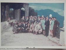 Vecchia foto d epoca fotografia antica RICORDO CLASSE 5 DE MARTINO RAVELLO 1967