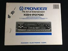 Pioneer KEH-P3700 High Power Cassette Player Supertuner III w/ Multi CD Control