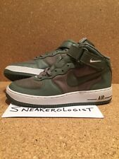 NIKE AIR FORCE 1 MID SZ 9 drum island classic olive 2005 vintage rare le classic