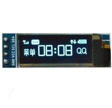 """IIC I2C 0.91""""128x32 Blue OLED LCD Display Module 3.3v 5v FOR AVR Arduino"""