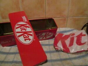 Kit Kat vintage long biscuit tin nestle retro kitchen & kitKat cotton Tea Towel