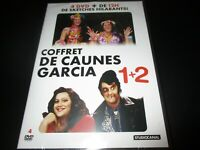 "COFFRET 4 DVD NEUF ""ANTOINE DE CAUNES - JOSE GARCIA - L'INTEGRALE 1 + 2"""