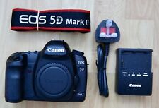 Canon EOS 5D Mark II 21.1MP Digital SLR Camera - Black (Body Only) 29k Actuation