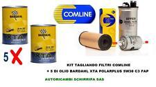 KIT TAGLIANDO FILTRI + OLIO BARDAHL XTA 5W30 VW GOLF 6 1.6 TDI CAY 2.0 TDI CFF