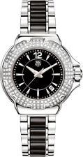 TAG HEUER  FORMULA 1 WAH1214.BA0859 DIAMOND CERAMIC LADIES LUXURY SWISS WATCH