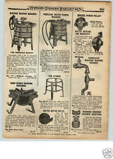 1922 PAPER AD Peerless Water Power Clothes Washing American Beauty Electric