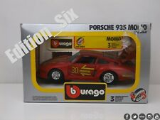 Burago 1:24 1:25 Porsche 935 MOMO Replica Sports Racing car Boxed