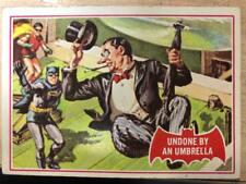 BATMAN Red Bat Cards A + B C Gum 1966 No 30A