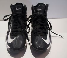 Nike Hyperfuse Black White Sz 8 TB 2012 Hyperdunk KD Basketball Hi High Tops