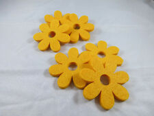 6  Filzblumen Streudeko Tischdeko Streuelemente 59 mm Neu