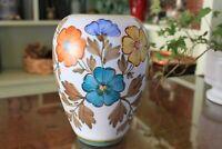 Flora Plateel Gouda Earthenware Vase Holland - Irene