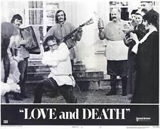 LOVE AND DEATH Movie POSTER 11x14 E Woody Allen Diane Keaton Georges Adel Despo