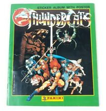 1986 Panini Thundercats Sticker Album - Used With Stickers