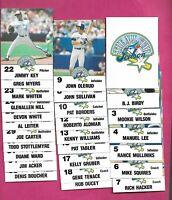 1991 TORONTO BLUE JAYS THE ALL STAR  SET CARD (INV# C1035)
