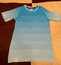 Men's Cheetah Running S/C Fitted Cheetah-Dri Shirt Blue Never Worn