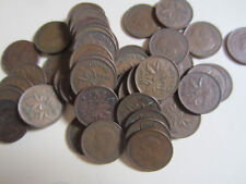 Roll of 1944 Canada Small Cents (50 Coins). SEMI KEY