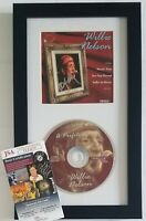 WILLIE NELSON CD DISPLAY JSA CERTIFIED COA RARE SIGNED COUNTRY MUSIC AUTOGRAPHED