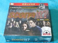 Twilight Scene it? The DVD Board Game Deluxe Edition New And Sealed