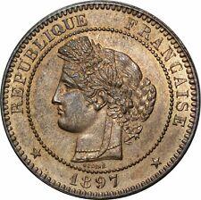 O294 Rare 10 Centimes Cérès 1897 A Paris SPLENDIDE ++++ FDC -> Faire offre