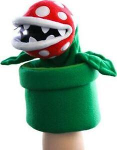 "Super Mario Piranha Plant Puppet 10"" Interactive Action Figure Toy"