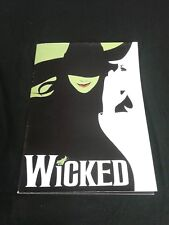 WICKED THE MUSICAL SOUVENIR PROGRAM