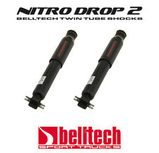 "82-04 S10/Sonoma 2WD Nitro Drop 2 Front Shocks for 0"" - 2"" Drop (Pair)"