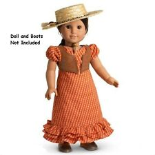 American Girl Josefina's Summer Outfit Dress Vest Hat NIB NRFB No Doll or Boots