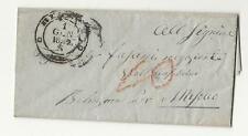 1858 SVIZZERA Canton TICINO lettera da BIASCA a MESOCCO-via BELLINZONA-g724