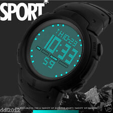 Men's Waterproof LED Digital Sport Watches Fashion Army Military Wrist Watches