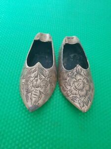 BRASS DECORATIVE SHOES