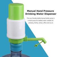 Manual Hand Pressure Drinking Water Dispenser Plastic Water Bottle Pump