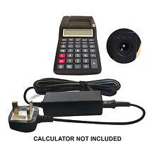 DC 6v 6 Volt Plug Power Supply AC Adapter Csada600 for Casio Printing Calculator