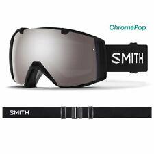 Smith I/o Snow Goggles - Mens Black ChromaPop Sun Platinum Mirror Lens Ii7cpp