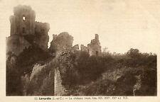 LAVARDIN LOT de 2 cartes sur les ruines du château