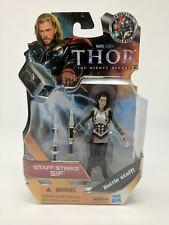 "Marvel Thor, Staff Strike Sif 4"" Action Figure 2011 Hasbro"