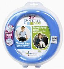 Potette Plus Toddler Travel Potty Seat, Blue