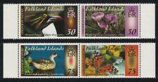 Falkland Is. Penguins Ducks Birds Flowers 2 pairs 2013 MNH SG#1273-1276 CV£8.-