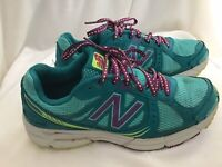 New Balance Women's WE561TY2 Teal and Purple Running Shoes Size 6.5