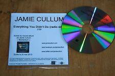 Jamie Cullum - France promo CD / Everything You Didn't Do radio edit