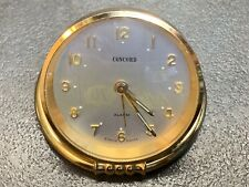 Concord Brass 8 Day Desk Alarm Clock Shelf Mantle