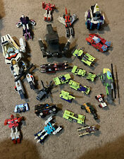 Transformers Large Vintage Original G1 Hasbro Transformers Lot 1980?s
