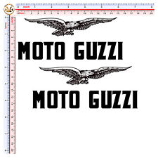 adesivi scontornati moto guzzi aquila sticker eagle moto guzzi auto helmet 2 kit