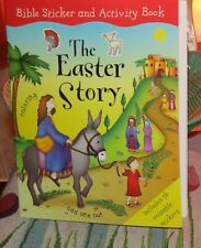 HOBBY LOBBY THE EASTER STORY BIBLE STICKER AND ACTIVITY BOOK