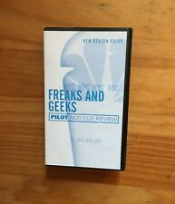 RARE VHS FREAKS AND GEEKS (1999) Press Pilot Seth Rogan Jason Segel BRAND NEW!