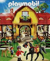 Prospekt Playmobil 2012 1/12 Spielzeugkatalog Katalog Spielzeuge catalog toys