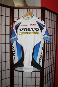 Volvo Cannondale Shimano cycling jersey size L .ALY