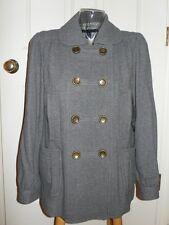 Marc Jacobs Elephant Gray Wool Jacket Coat $498 Nwt 12